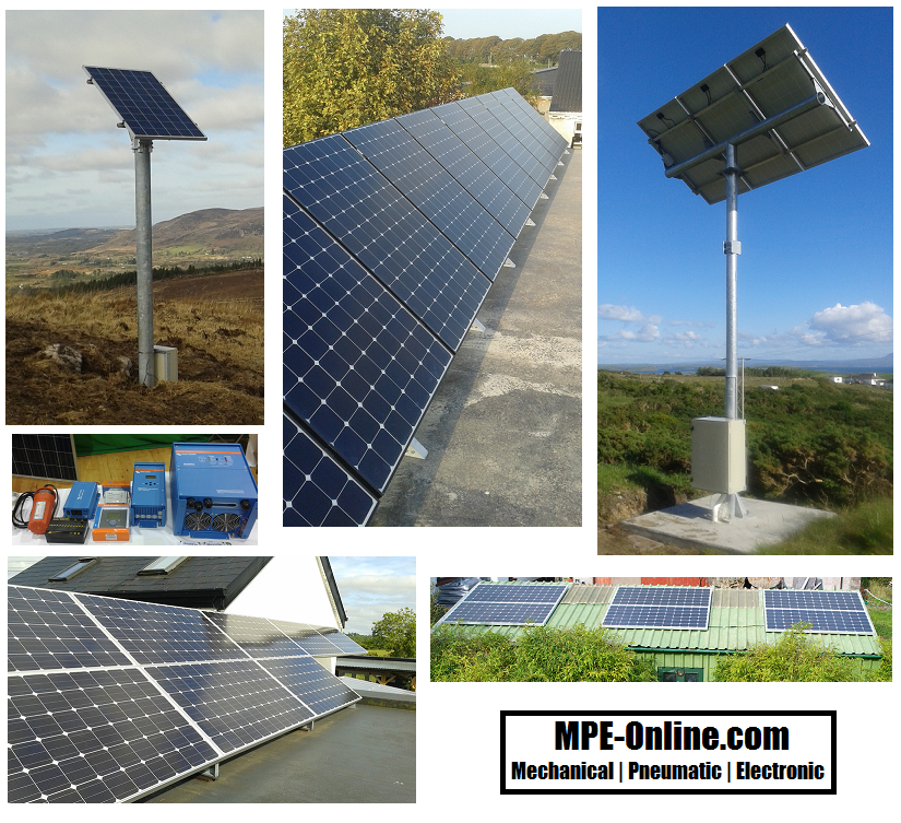 MPE-Online PV Solar Panel Installations