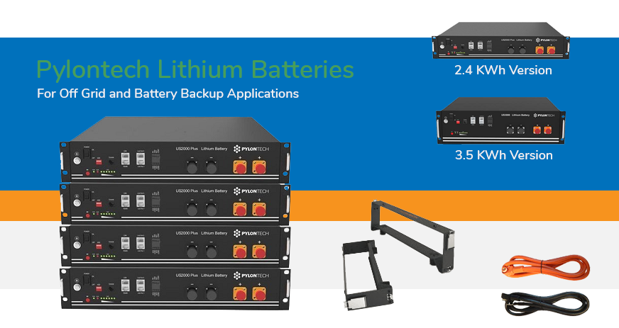Lithium Offgrid Pylontech Batteries